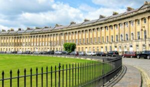 Royal crescent hotel bath